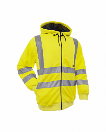 Blaklader 3346 Hooded Sweater High Visibility (Yellow)